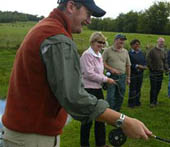 Andy Ryan : Single Handed Casting Instruction : County Waterford, Ireland
