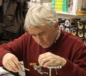 Frankie McPhillips : APGAI Ireland Fly Dresser : Fly Tying Courses, Demonstrations and Instruction