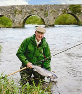 Peter O'Reilly : Single and Double Handed Casting Instruction : County Meath, Ireland