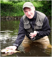 Patrick Trotter : Single Handed Casting Instructor : County Fermanagh, Northern Ireland