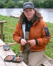 Glenda Powell : Single and Double Handed Casting Tuition : County Waterford, Ireland